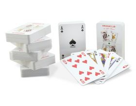 Playing Cards with print